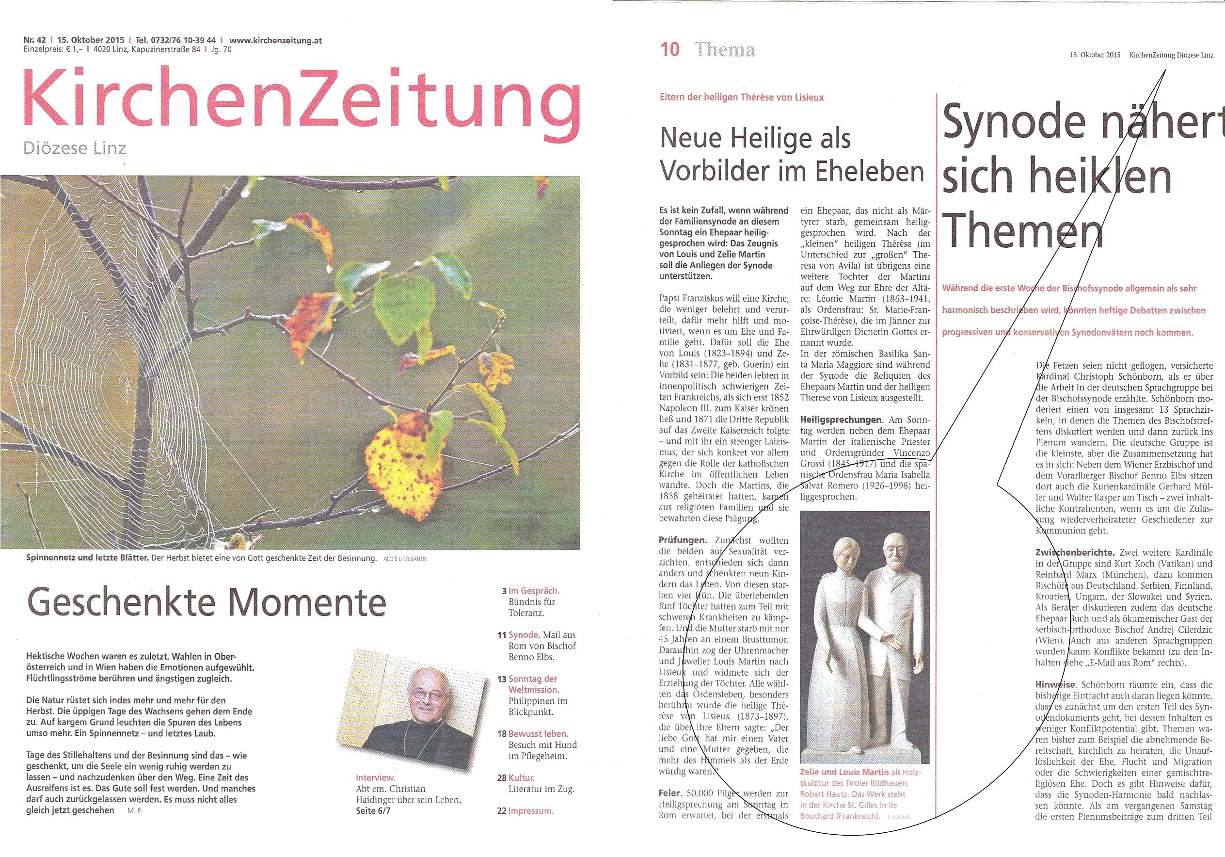 Kirchenzeitung_Diözese_Linz